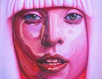 Lady Gaga - oil on canvas