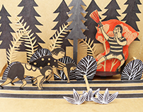 Handmade Pop-up Books: Fantastic Violence