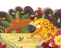Hyena in the Jungle