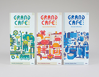 Grand Cafe Coffee Rebrand