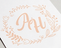 Wedding Visual Identity - AH