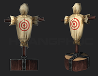 LowPoly Target Dummy
