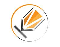 KM Writer Logo Design for a writer