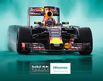 Hisense | Formula 1 Wallpaper Graphic