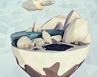 Island Worlds. The Iceberg