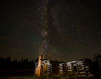 Cabin and Milky Way