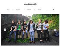 weedfuncloth | home page design