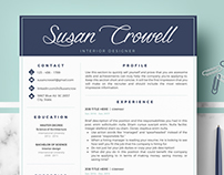 Creative & Professional Resume Template