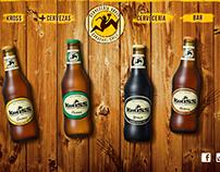 Sitio web cerveza kross. (simulación)