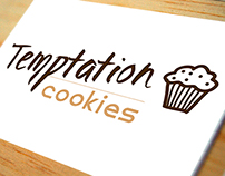 Logotipo. Empresa: Temptation cookies.