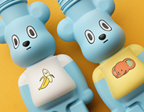 Bearbrick Bottle Custom [starfy]