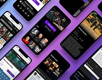 Online Cinema Mobile Website