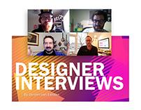 Freelance Designer Interviews