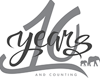 10 Year Anniversary Logo - The Brooklyn Circus