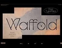 WAFFOLD - FREE ELEGANT FONT