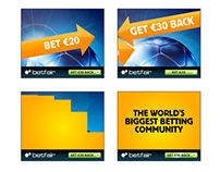 Betfair banner designs