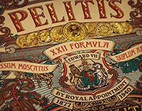 Peliti's Brand Design