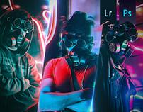 Neon Cyberpunk Vibe