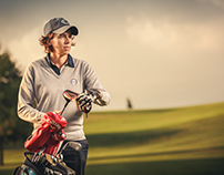 Professional Golfer Giulia Franchini
