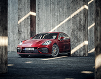 Porsche Panamera- full CGI