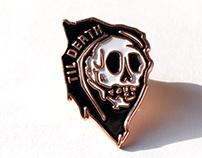Til Death Enamel Pins