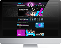 Black & White Festival Colombia - Web Design