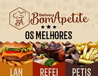 Delivery Bom Apetite - Flyer