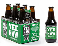 Yee-Haw Brewing Co. Beer Packaging