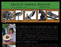 Native Animal Rescue 5x7 Postcard