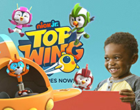 "Nick Jr. ""Top Wing"" Commercial"