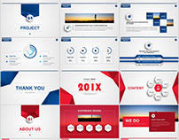 2 in 1 Best business Swot PowerPoint template