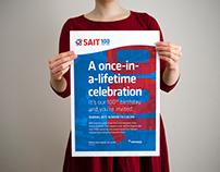 SAIT Centennial Poster Campaign