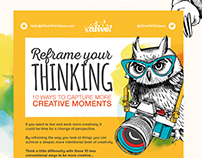 Reframe Your Thinking - Infographic