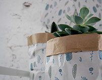 Paper pot pattern for Cactus Lab