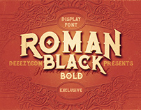 Roman Black Bold – Free Font