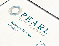 Pearl Equity Partners Naming, Logo, and Identity