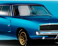 Dodge Charger / Illustration