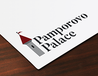 Pamporovo Palace Logo Design