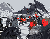 beyond the wall - game of thrones