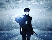 【NEO HOU】Asian artist effects poster