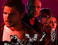 """The Program"" Movie poster Design & Illustration"