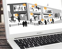 IOT Concept Display (web design)