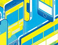 #我們都是串流世代|500輯 issue 21封面繪製