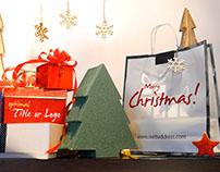 Christmas Gifts Logo - Storefront Digital Signage