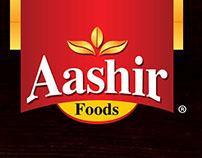 Aashir Fried Onion Packaging design