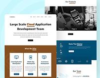 Software Company Website