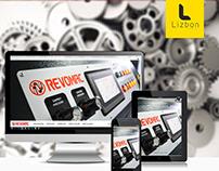 Revomac Makina Web Sitesi Projesi