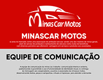 MINASCAR- Design, social media