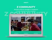 Z COMMUNITY - website design