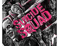 Suicide Squad Promotional Poster